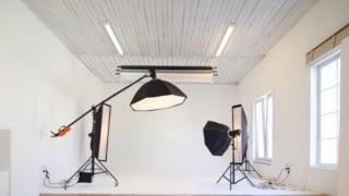 写真撮影のスタジオの写真